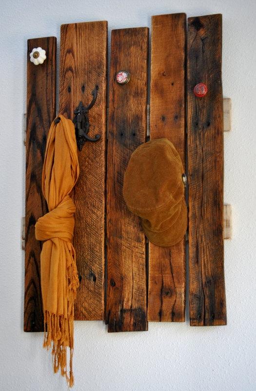 repurposed pallet rack