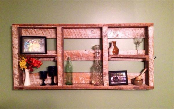 related posts pallet wall shelf storage diy upcycled pallet shelf idea ...