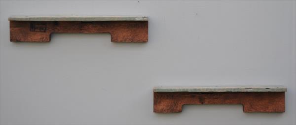 reestablished pallet shelves