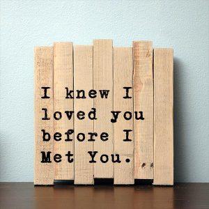 diy pallet love sign