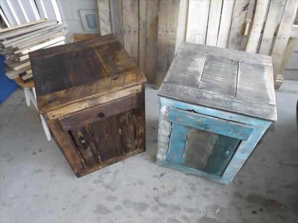 diy pallet tables