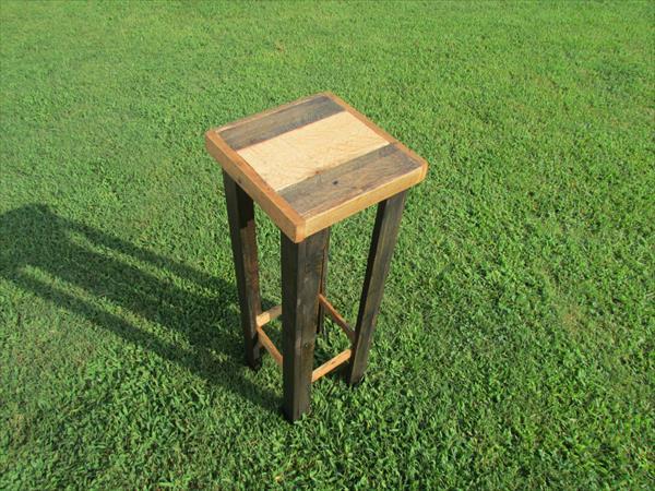 diy pallet potting table