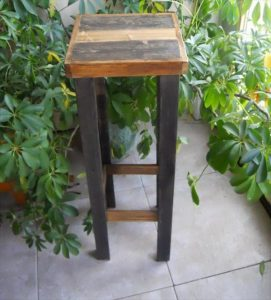 High Height Wood Table