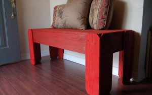 Make Rustic Pallet Bench