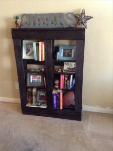 Cheers Pallet Bookcase Plan
