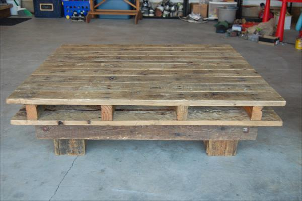 diy pallet rustic pallet coffee table