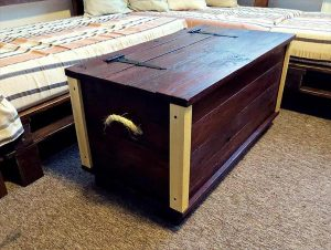 Pallet Storage Trunk Pallet Furniture Plans