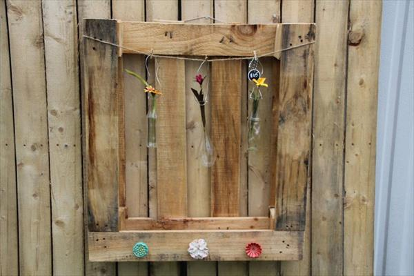 upcycled pallet wall art