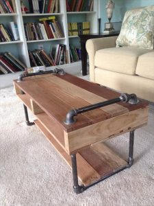 Handmade Industrial Pallet Coffee Table