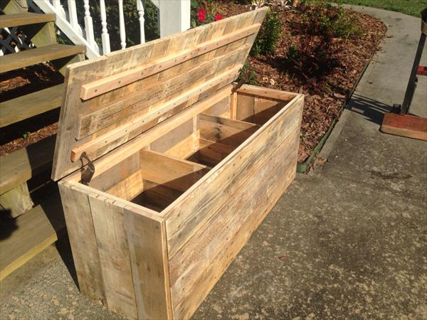 related posts diy distressed pallet trunk diy pallet wood chest ...