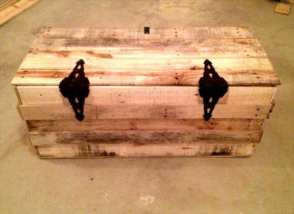 repurposed pallet trunk