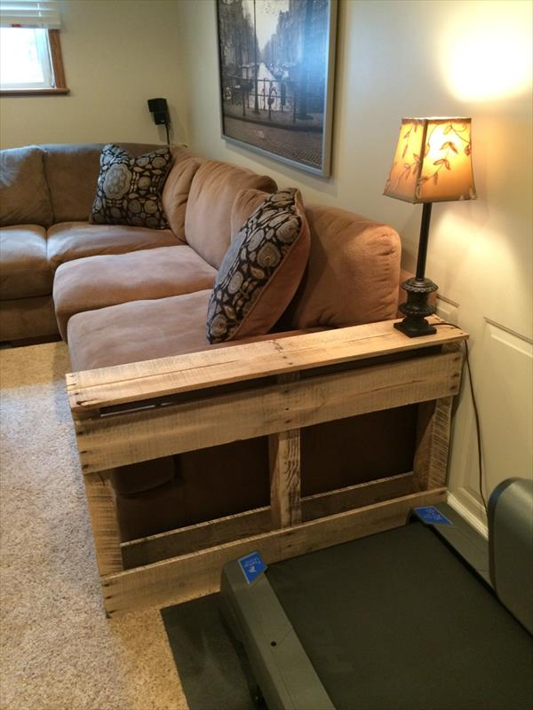 table diy recycled pallet end table pallet wood side table diy rustic ...