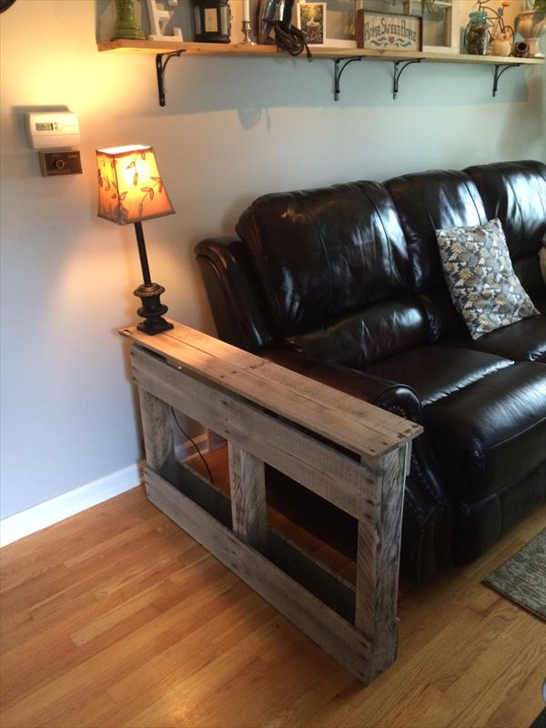Rustic Side Tables Living Room - Table Design Ideas