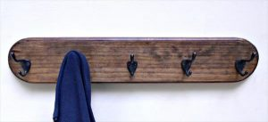 DIY Pallet Wall Coat Rack