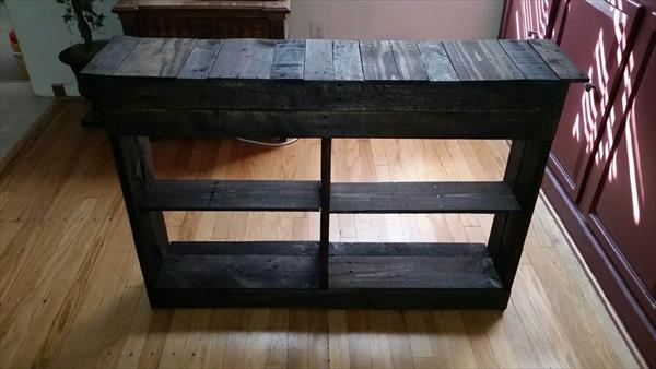 Diy Rustic Pallet Shoe Rack Pallet Furniture Plans