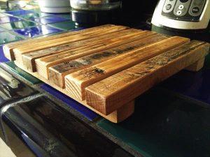 rustic wooden pallet trive