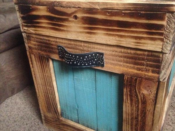 resurrected pallet storage chest