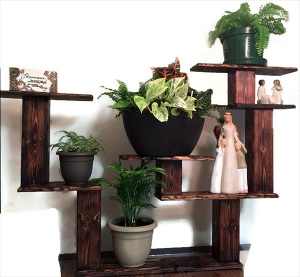 recycled pallet mountable pallet shelf