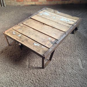 DIY Pallet Ware House Cart / Coffee Table