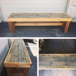 Wooden pallet chair plans