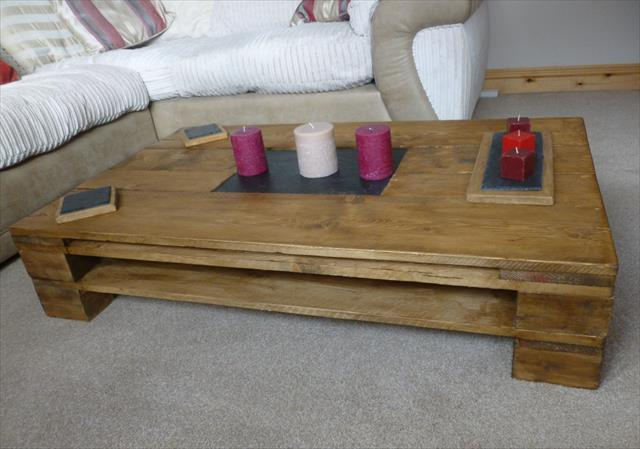 Wood Pallet Recycled coffee table design