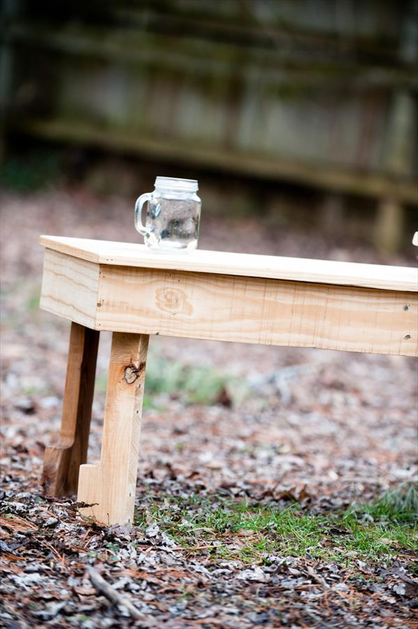 dioy pallet rustic coffee table for patio
