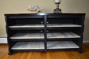 Refurbished Pallet Media Cabinet / Console