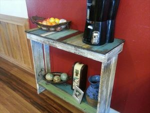 Pallet Side Table / Console Table