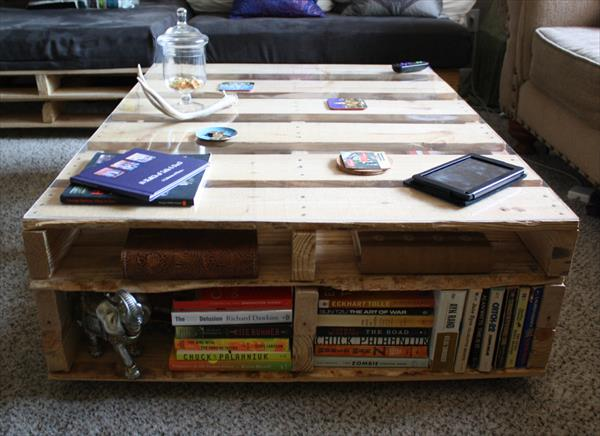 diy pallet rustic large pallet coffee table
