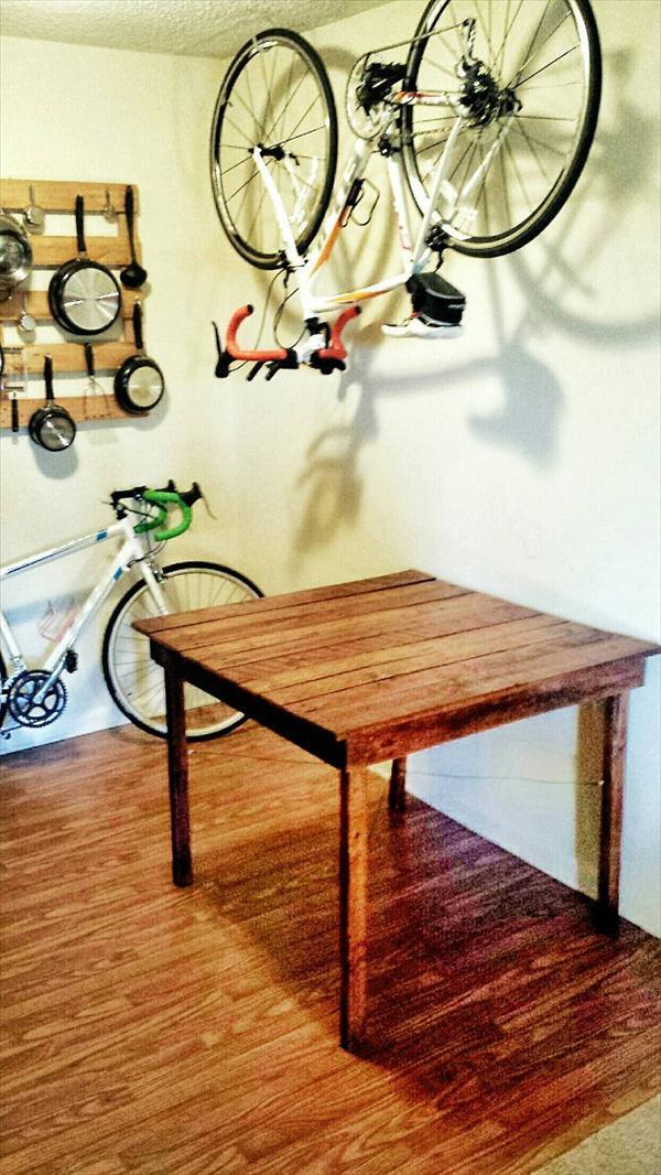 handmade pallet kitchen