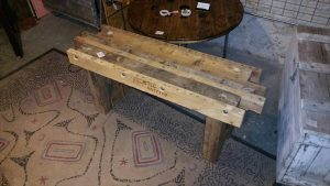 Reclaimed Pallet Bench or Coffee Table