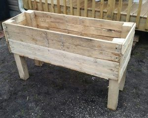 Recycled Pallet Garden Planter Boxes