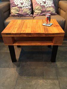 diy pallet sturdy coffee table
