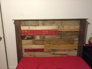 Pallet Accent Queen Headboard