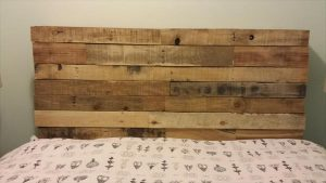 Queen Size Pallet Headboard