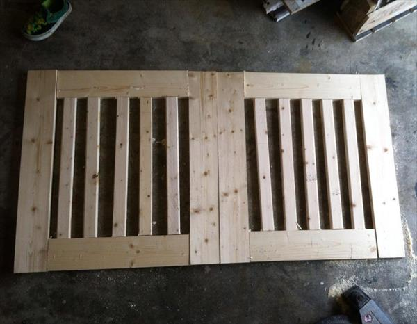 Diy Pallet Blocking Off Baby Gate Pallet Furniture Plans