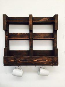 Diy Pallet K Cup Holder Pallet Furniture Plans