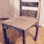 DIY Pallet Dining Chair