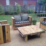 DIY Wood Pallet Patio Furniture Set
