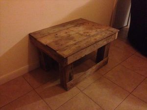 Ultra-Rustic Pallet Coffee Table
