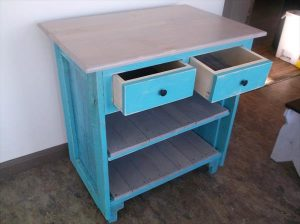 Pallet Little Floor Cabinet – Side Table
