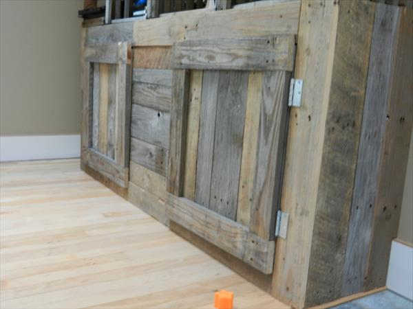 Pallet Media Center Tv Console Pallet Furniture Plans