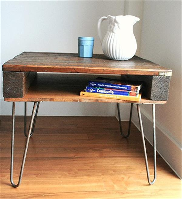 Reclaimed pallet coffee table