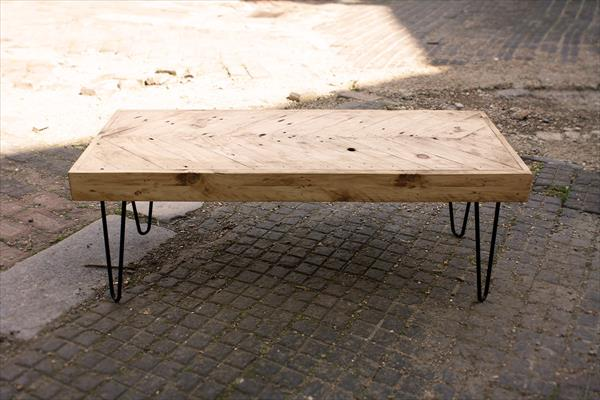 Build Industrial Coffee Table: Wood Pallet Handmade Coffee Table