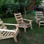 Pallet Rustic Adirondack Chairs