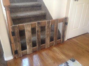 DIY Wood Pallet Baby Gate