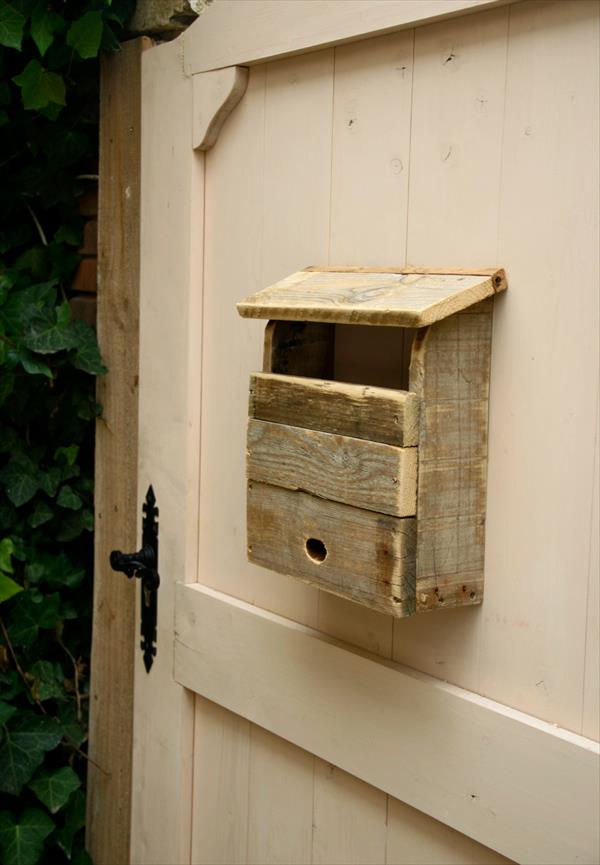 reclaimed mail box
