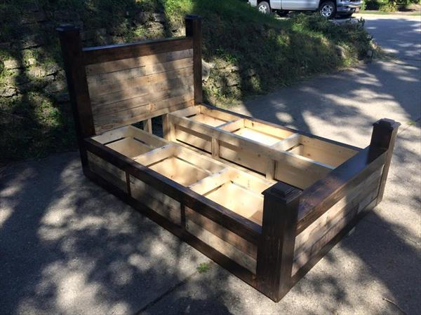 plans for platform bed with storage drawers | Woodworking Camp and ...