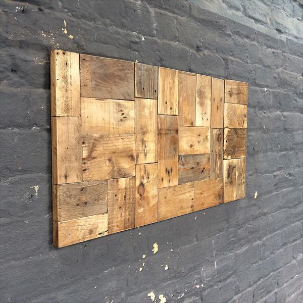 wooden pallet rustic wall art