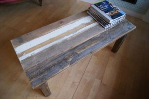 Pallets Wood Coffee Table